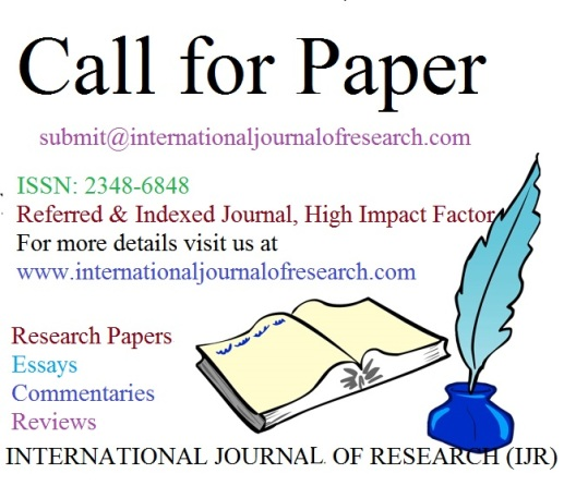 International Journal of Research- Call for Paper
