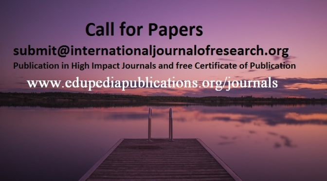 Research Publication: Call for Papers
