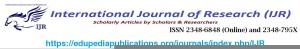 International Journal of Research IJR
