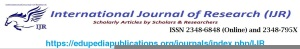 International Journal of Research IJR
