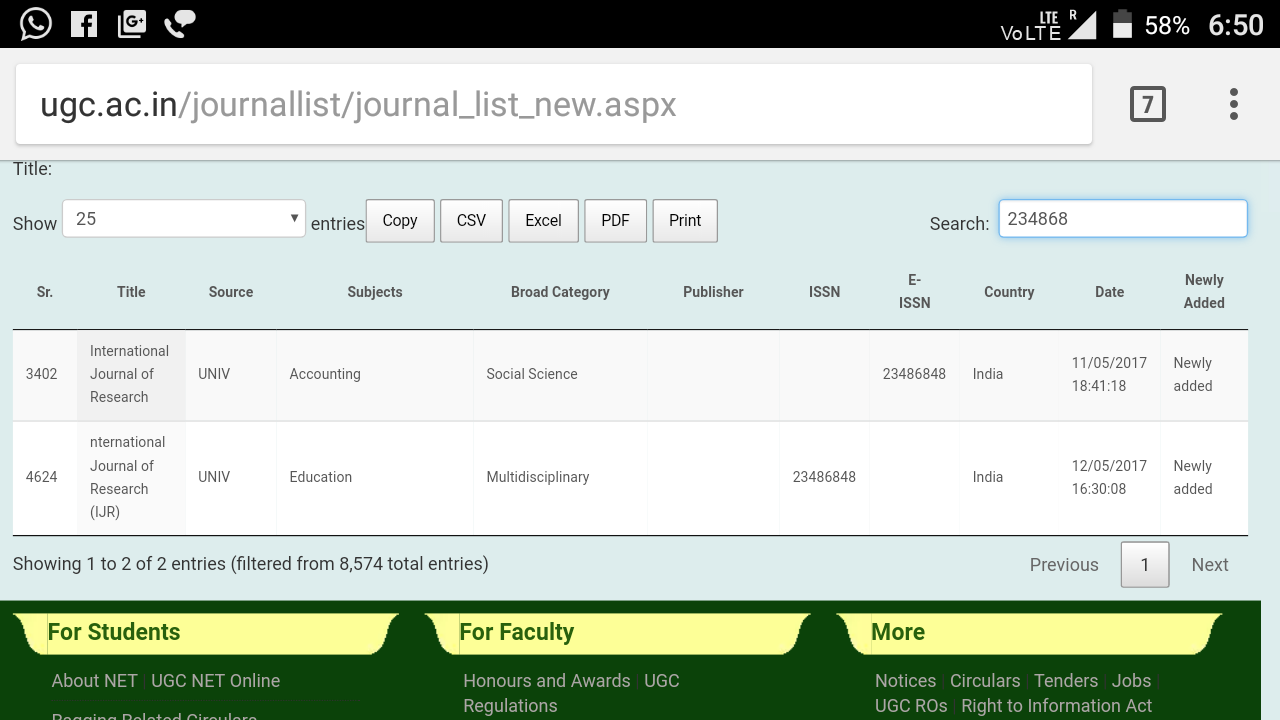 UGC APPROVED JOURNAL   International Journal of Research (IJR)