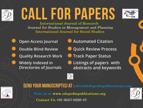 Call for Papers Publication in International Journal