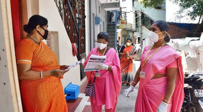 ROLE OF ASHAs IN KEEPING INDIA'S VILLAGES PROTECTED FROM CORONAVIRUS