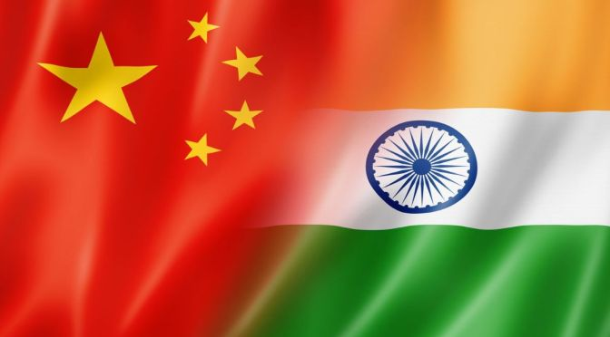 TENSION BETWEEN INDIA AND CHINA ESCALATES
