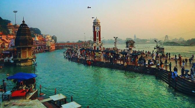 River ganga – the goddess of India