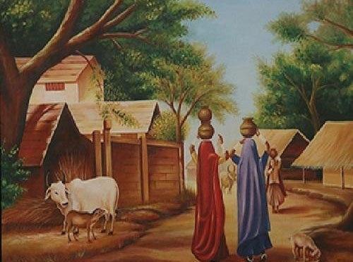 "The Wonderful ""Village Life"""