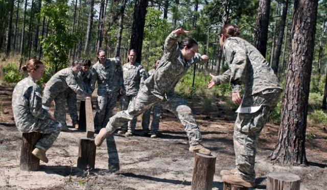 Military: a career choice for women!