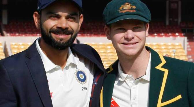 """Virat Kohli vs Steven smith"""