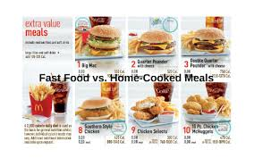 Fast Food vs. Home-Cooked Meals by Monica Meneses on Prezi Next