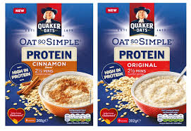 Quaker Oats launches new protein variant