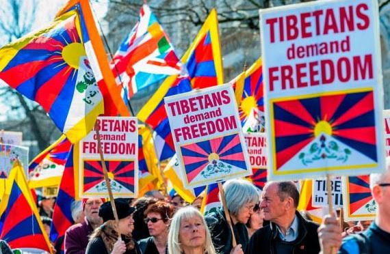 Battle of Tibet for a sense of identity