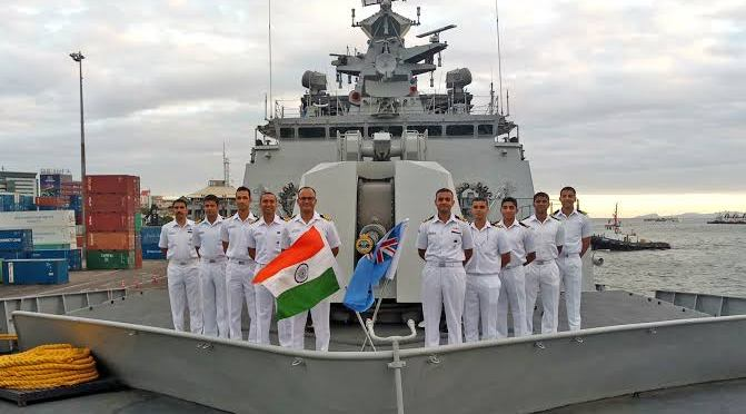 Types Of Ships In service with The INDIAN NAVY