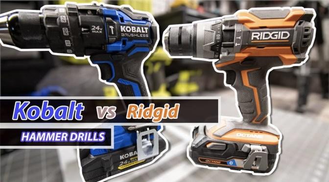 Kobalt vs. Ridgid