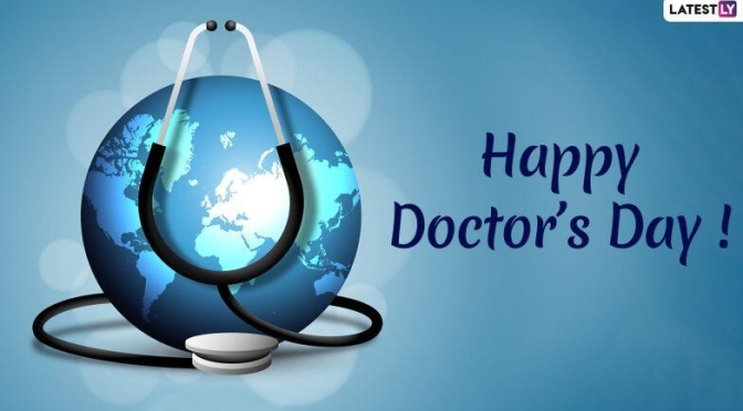Doctor As A Hero in Today's Time.                                  Happy Doctor's Day