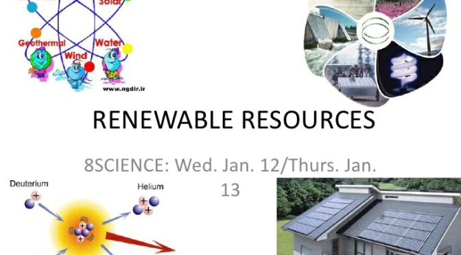 Renewable sources- Future of India