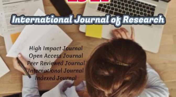 Call for papers (IJR Journal)