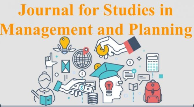 journal for studies in Management and planning